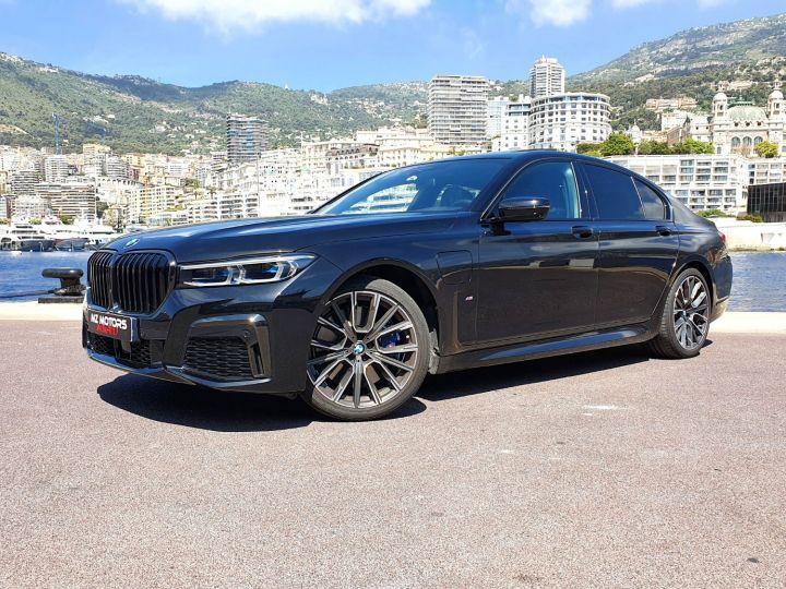 BMW Série 7 (G11) (2) 745E 394 M SPORT Noir Saphir Métal Occasion - 3