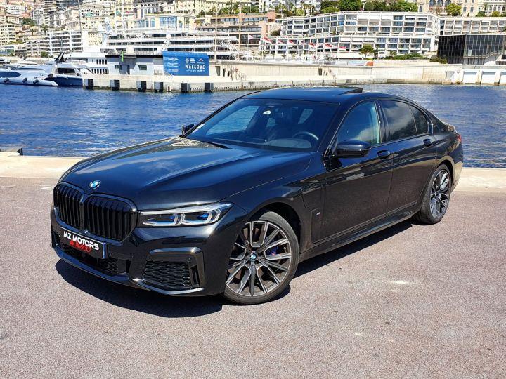 BMW Série 7 (G11) (2) 745E 394 M SPORT Noir Saphir Métal Occasion - 4