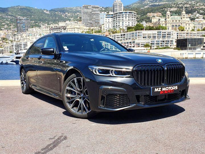 BMW Série 7 (G11) (2) 745E 394 M SPORT Noir Saphir Métal Occasion - 5
