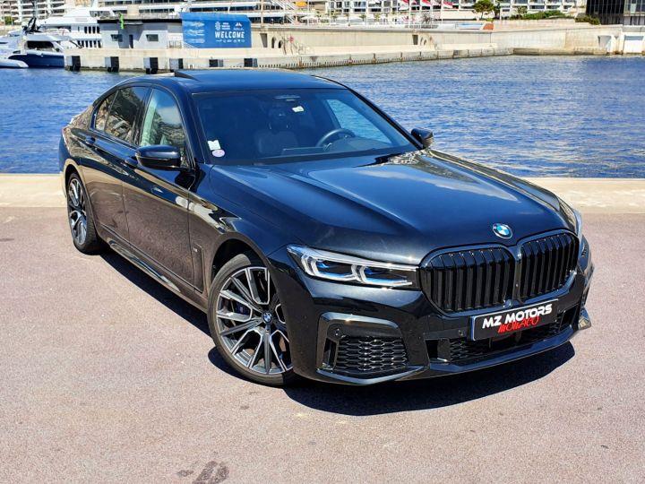 BMW Série 7 (G11) (2) 745E 394 M SPORT Noir Saphir Métal Occasion - 6