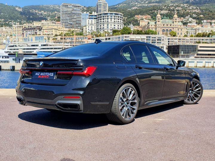 BMW Série 7 (G11) (2) 745E 394 M SPORT Noir Saphir Métal Occasion - 9
