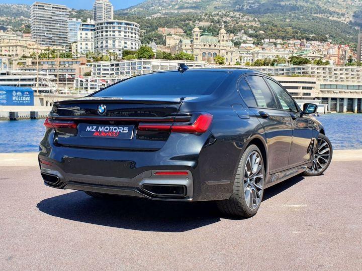 BMW Série 7 (G11) (2) 745E 394 M SPORT Noir Saphir Métal Occasion - 10