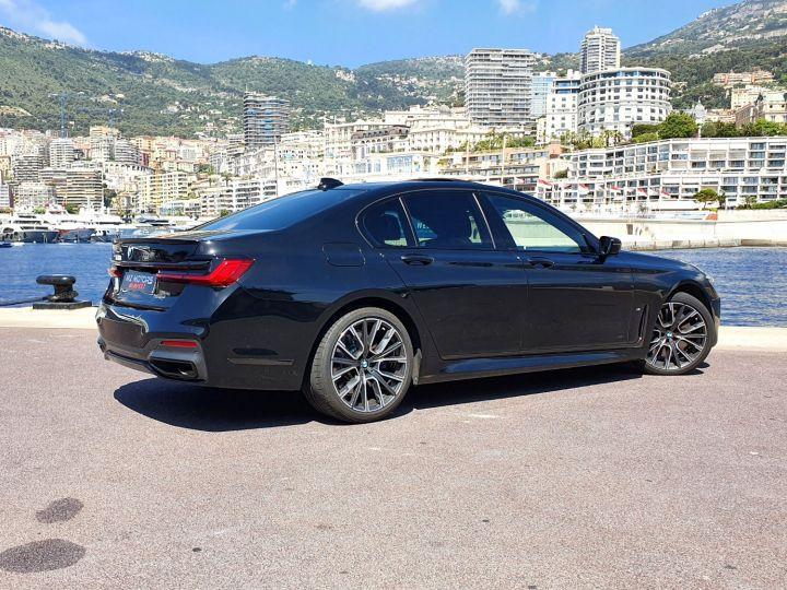 BMW Série 7 (G11) (2) 745E 394 M SPORT Noir Saphir Métal Occasion - 11