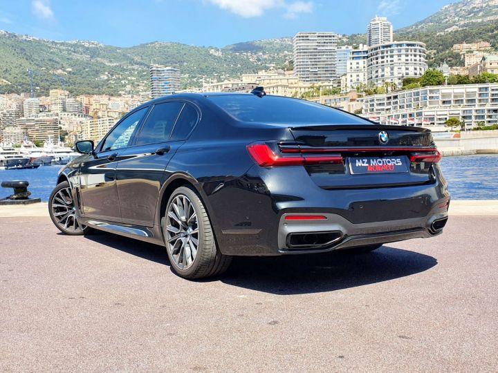 BMW Série 7 (G11) (2) 745E 394 M SPORT Noir Saphir Métal Occasion - 13