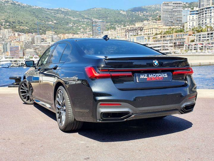 BMW Série 7 (G11) (2) 745E 394 M SPORT Noir Saphir Métal Occasion - 14