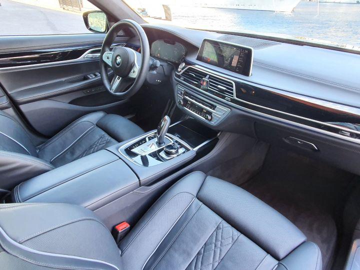 BMW Série 7 (G11) (2) 745E 394 M SPORT Noir Saphir Métal Occasion - 21