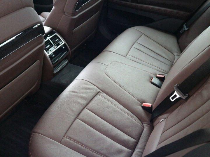 BMW Série 7 (G11) 730D XDRIVE 265 M SPORT BVA8 (05/2018) noir métal - 11