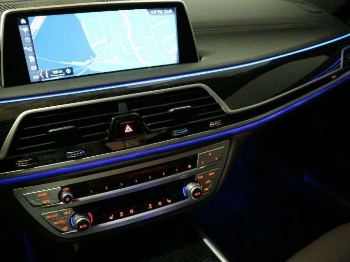 BMW Série 7 (G11) 730D XDRIVE 265 M SPORT BVA8 (05/2018) noir métal - 16