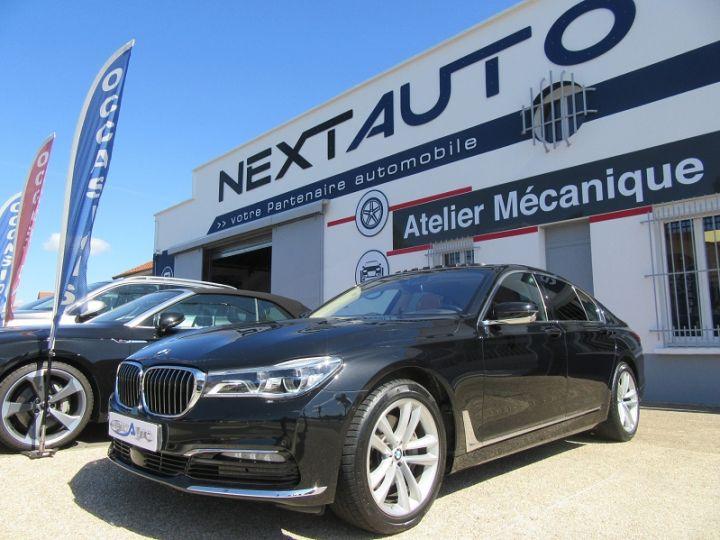 BMW Série 7 (G11/G12) 740IA 326CH EXCLUSIVE Noir Occasion - 1