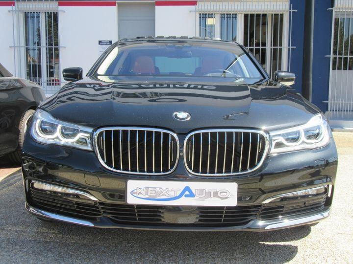 BMW Série 7 (G11/G12) 740IA 326CH EXCLUSIVE Noir Occasion - 6