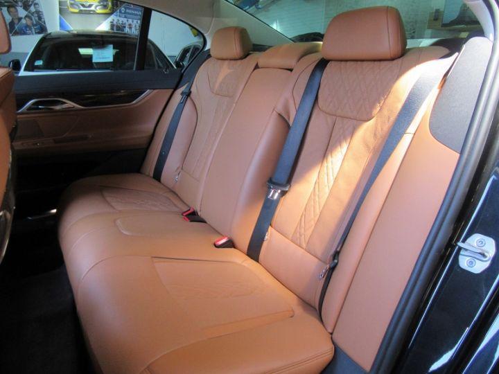 BMW Série 7 (G11/G12) 740IA 326CH EXCLUSIVE Noir Occasion - 8