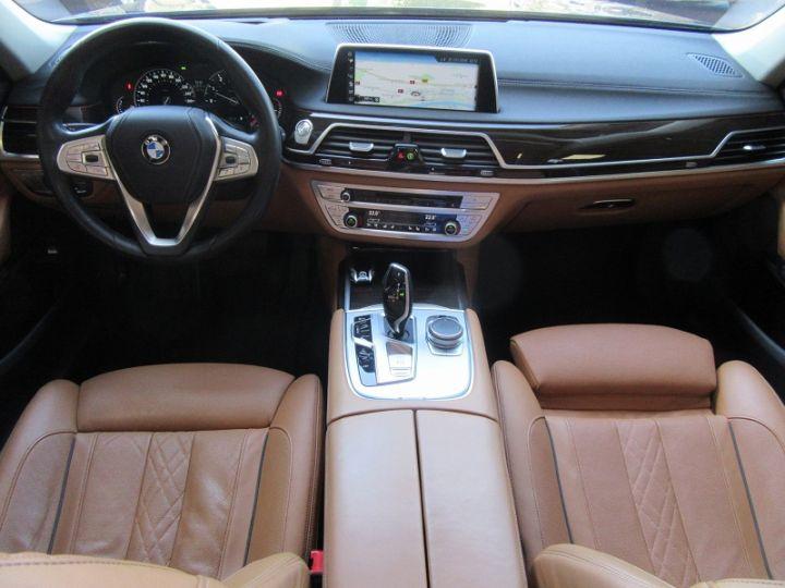BMW Série 7 (G11/G12) 740IA 326CH EXCLUSIVE Noir Occasion - 9