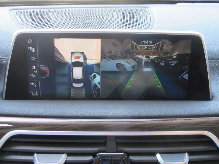 BMW Série 7 (G11/G12) 740IA 326CH EXCLUSIVE Noir Occasion - 20