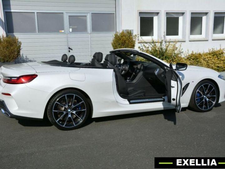 BMW Série 8 840d xDrive Cabrio BLANC PEINTURE METALISE  Occasion - 1