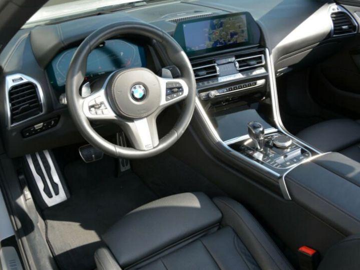 BMW Série 8 840d xDrive Cabrio BLANC PEINTURE METALISE  Occasion - 4