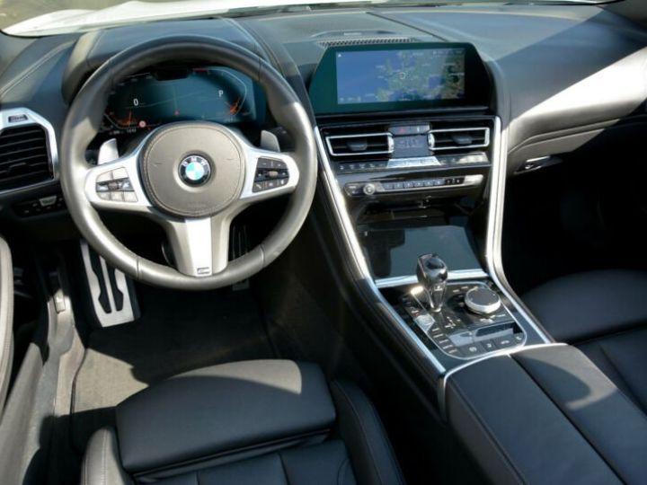 BMW Série 8 840d xDrive Cabrio BLANC PEINTURE METALISE  Occasion - 5