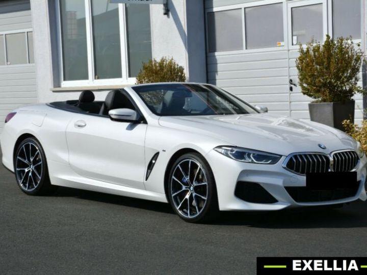 BMW Série 8 840d xDrive Cabrio BLANC PEINTURE METALISE  Occasion - 6