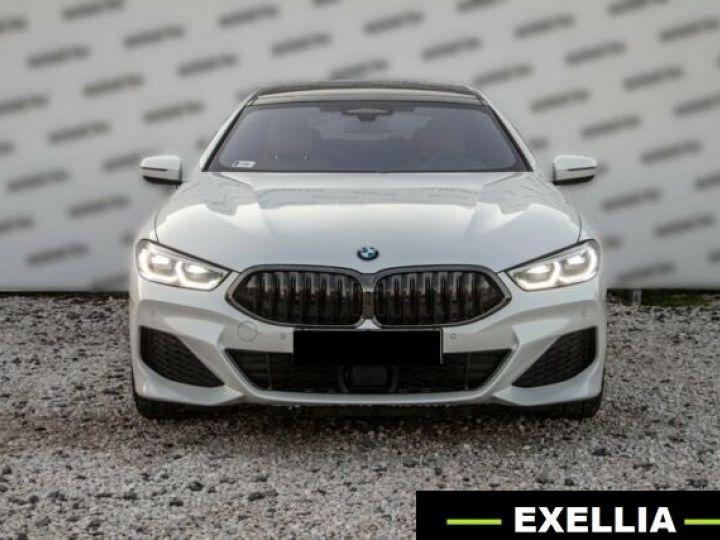BMW Série 8 840D XDRIVE GRAN COUE AERO M BLANC  Occasion - 4