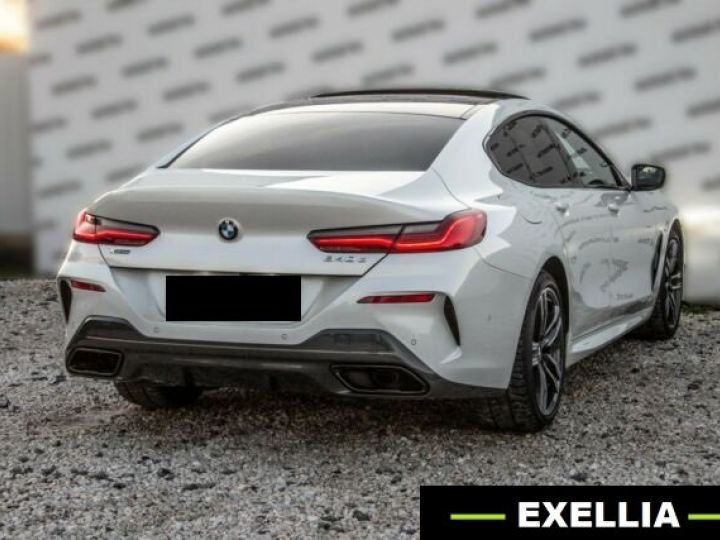 BMW Série 8 840D XDRIVE GRAN COUE AERO M BLANC  Occasion - 7