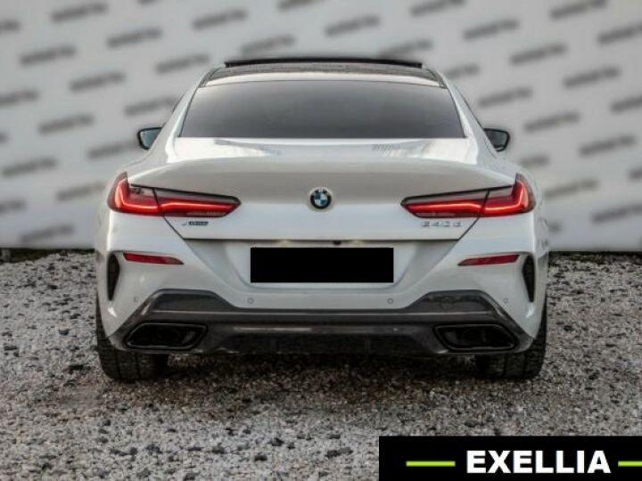 BMW Série 8 840D XDRIVE GRAN COUE AERO M BLANC  Occasion - 8