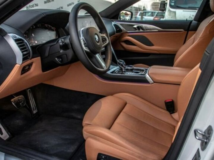 BMW Série 8 840D XDRIVE GRAN COUE AERO M BLANC  Occasion - 12