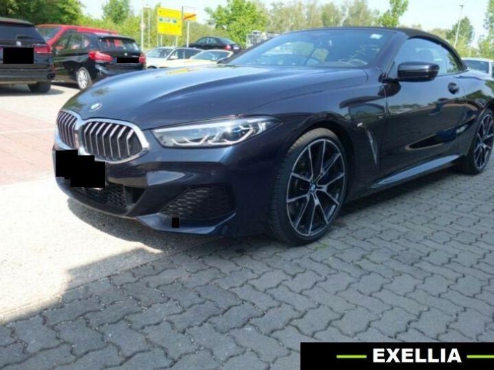 BMW Série 8 840d xDrive M Sport Cabrio  NOIR PEINTURE METALISE  Occasion - 1