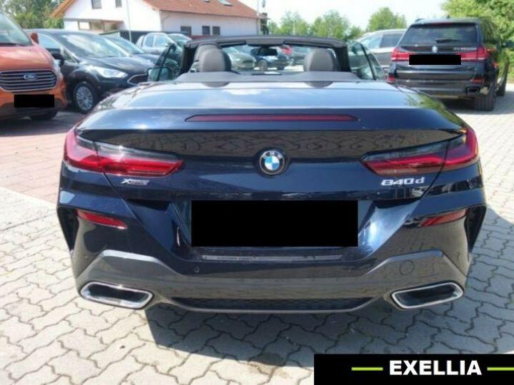 BMW Série 8 840d xDrive M Sport Cabrio  NOIR PEINTURE METALISE  Occasion - 5