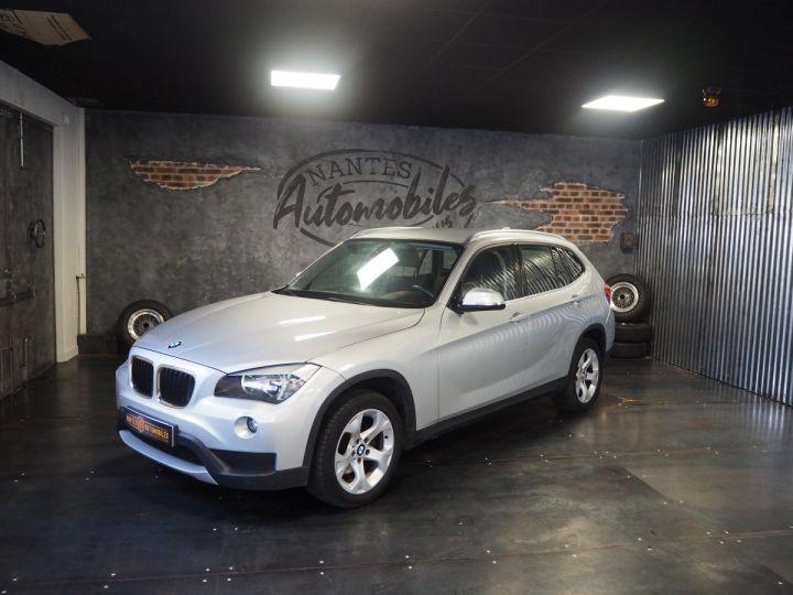 BMW X1 (E84) SDRIVE 20D 184 LOUNGE+ gris  - 1