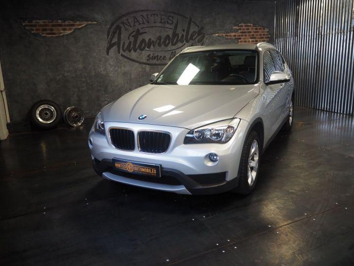 BMW X1 (E84) SDRIVE 20D 184 LOUNGE+ gris  - 3