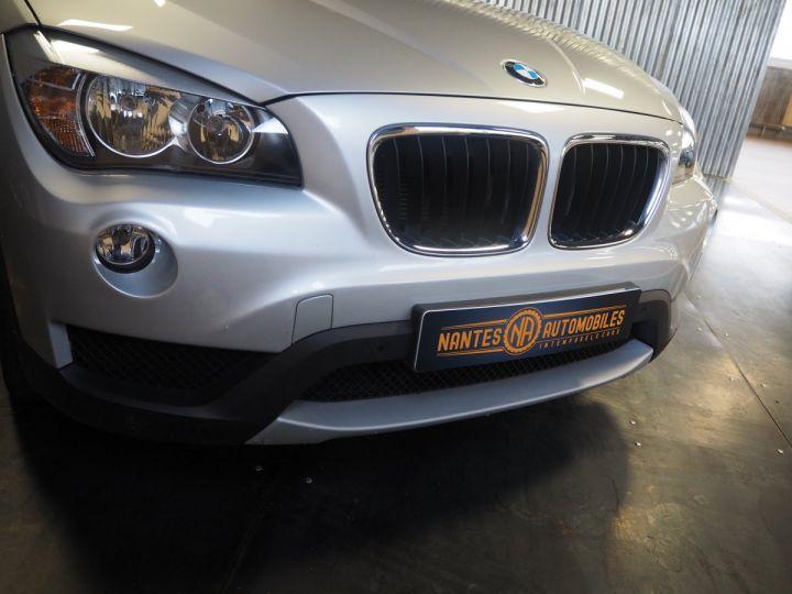 BMW X1 (E84) SDRIVE 20D 184 LOUNGE+ gris  - 4