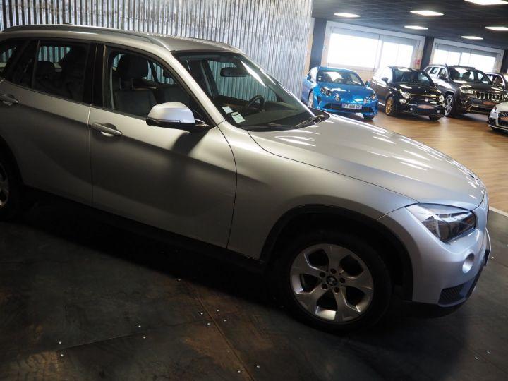 BMW X1 (E84) SDRIVE 20D 184 LOUNGE+ gris  - 5