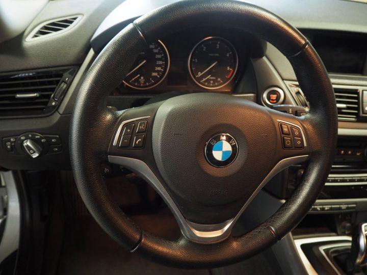 BMW X1 (E84) SDRIVE 20D 184 LOUNGE+ gris  - 12