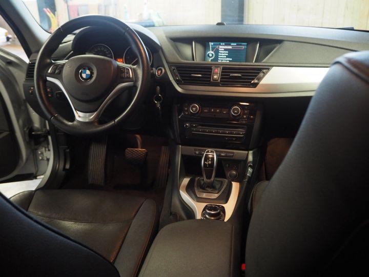 BMW X1 (E84) SDRIVE 20D 184 LOUNGE+ gris  - 13