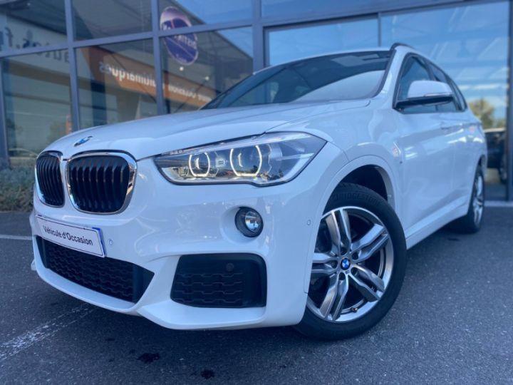 BMW X1 (F48) XDRIVE18D 150CH SPORT Blanc - 1