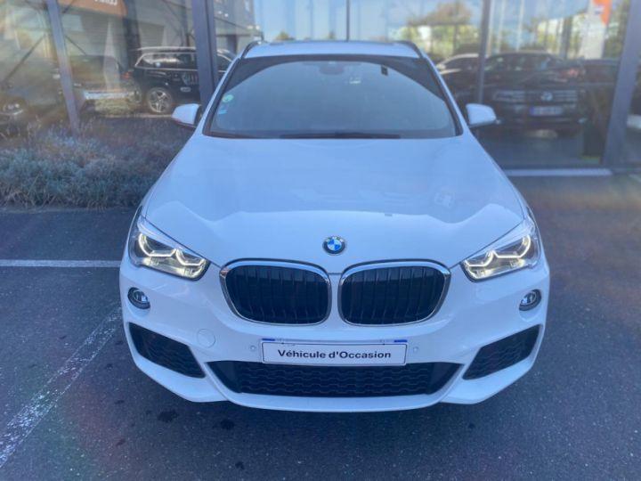BMW X1 (F48) XDRIVE18D 150CH SPORT Blanc - 4
