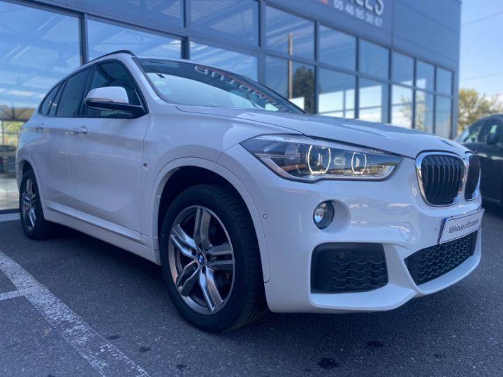 BMW X1 (F48) XDRIVE18D 150CH SPORT Blanc - 5