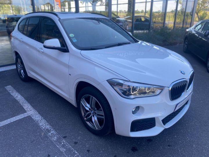 BMW X1 (F48) XDRIVE18D 150CH SPORT Blanc - 6
