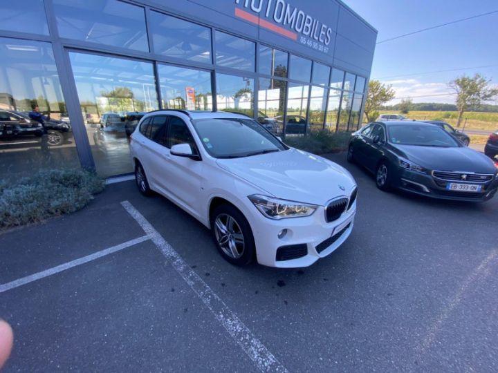 BMW X1 (F48) XDRIVE18D 150CH SPORT Blanc - 8