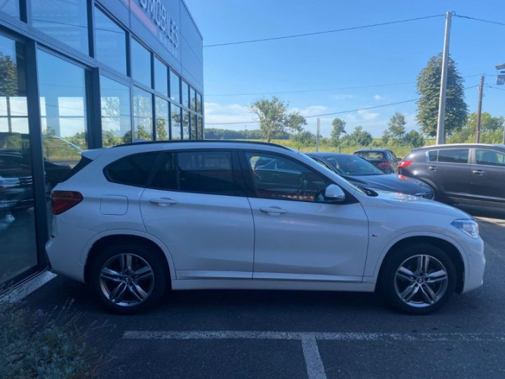 BMW X1 (F48) XDRIVE18D 150CH SPORT Blanc - 9