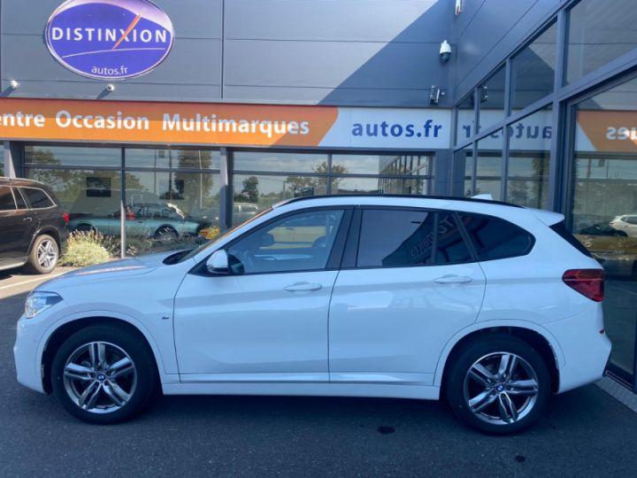 BMW X1 (F48) XDRIVE18D 150CH SPORT Blanc - 10