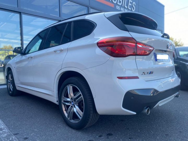 BMW X1 (F48) XDRIVE18D 150CH SPORT Blanc - 11