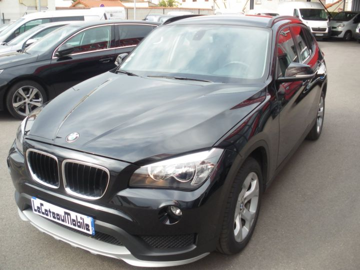BMW X1 SDrive 18 D 143cv Noir - 1