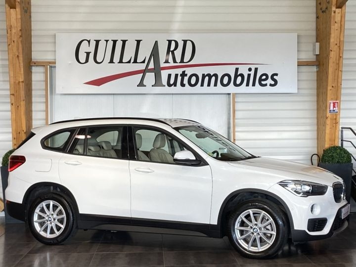 BMW X1 SDRIVE 18D BUSINESS 150ch (F48) BVM6 Blanc - 3