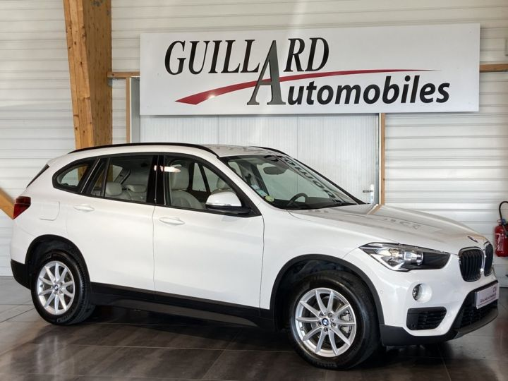 BMW X1 SDRIVE 18D BUSINESS 150ch (F48) BVM6 Blanc - 5