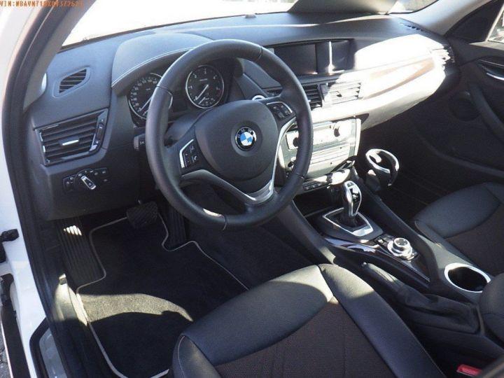 BMW X1 sDrive18d 143 xLINE Boite auto(05/2015) (Blanc) Alpine White - 7