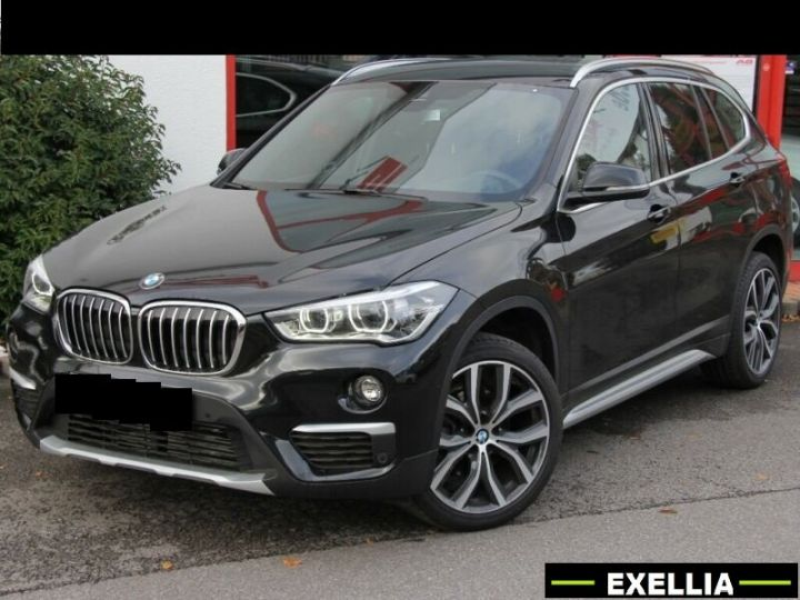 BMW X1 xDRIVE X-LINE  noir peinture métallisé  Occasion - 1