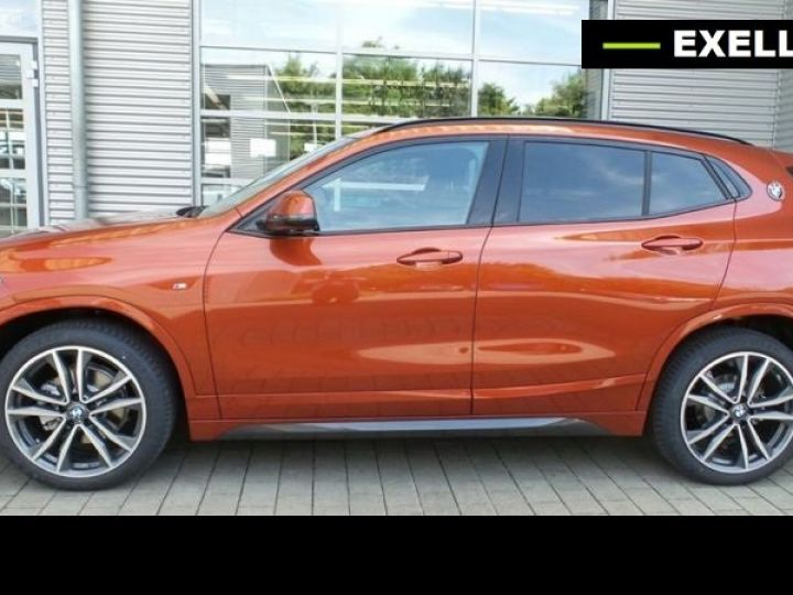 BMW X2 SDRIVE 18D PACK M SPORT BVA  ORANGE Occasion - 1