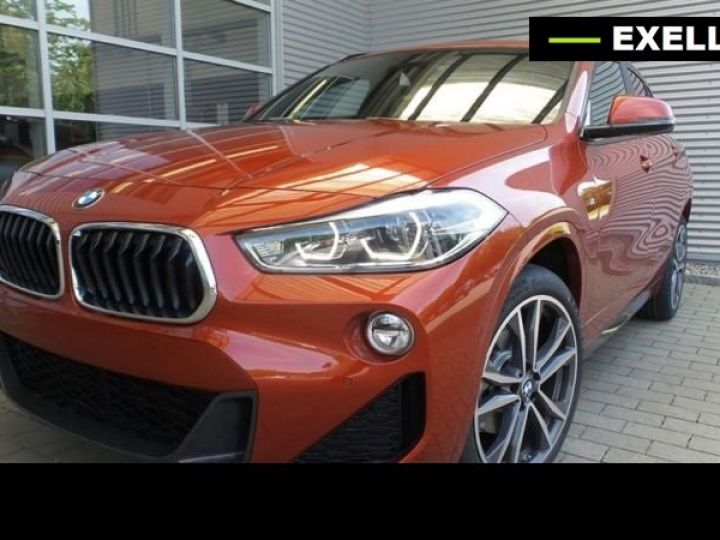BMW X2 SDRIVE 18D PACK M SPORT BVA  ORANGE Occasion - 2