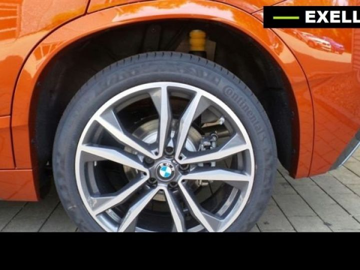 BMW X2 SDRIVE 18D PACK M SPORT BVA  ORANGE Occasion - 4