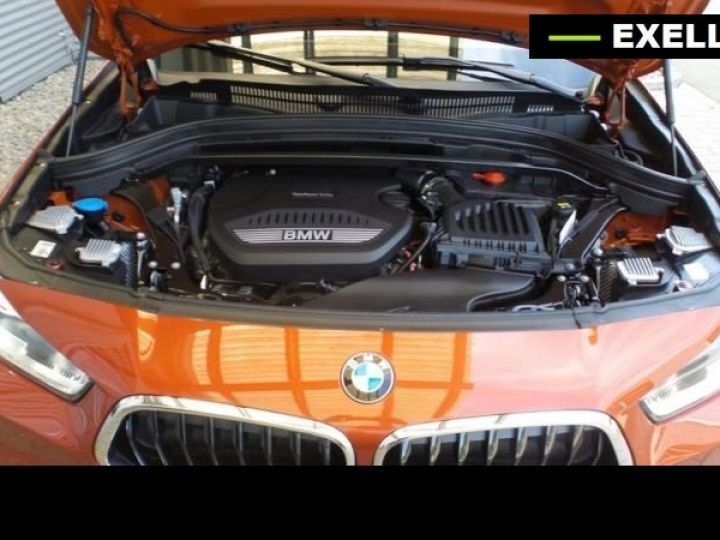 BMW X2 SDRIVE 18D PACK M SPORT BVA  ORANGE Occasion - 9